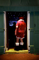 03 Feb 2013. New Orleans, Louisiana USA. .Bourbon Street. Where Santa can be found after Christmas..Photo; Charlie Varley