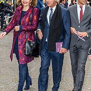 NLD/Naarden//20170414 - Matthaus Passion in de grote kerk van Naarden, Edith Schippers en Roger van Boxtel