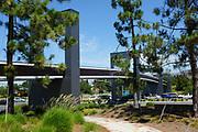 Pedestrian Bridge Over Irvine Boulevard