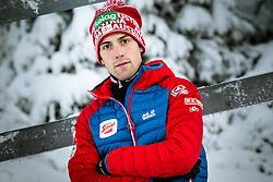 27.11.2014, Nordic Arena, Ruka, FIN, OESV, Nordische Kombinierer, Fotoshooting, im Bild Philipp Orter (AUT) // Philipp Orter of Austria during the Photoshooting of the Ski Austria Nordic Combined Team at the Nordic Arena, Ruka, Finland on 2014/11/27 . EXPA Pictures © 2014, PhotoCredit: EXPA/ JFK