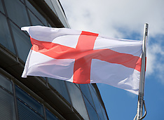 St. George's Flag at City Hall 18th April 2017