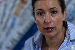 July 6, 2018 - Rome, Italy, Italy - Roberto Mignone, coordinator for Libya of the UN Refugee Agency, UNHCR, talks to reporters during a press conference on the refugees situation on Libya, on July 6, 2018 in Rome, Italy  (Credit Image: © Andrea Ronchini/NurPhoto via ZUMA Press)