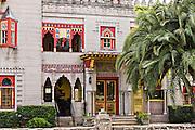 Villa Zorayda in St. Augustine, Florida.