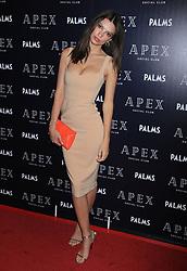 May 26, 2018 - Las Vegas, Nevada, USA - 5/25/18.Emily Ratajkowski at the opening of Apex Social Club at Palms Casino Resort in Las Vegas, Nevada. (Credit Image: © Starmax/Newscom via ZUMA Press)