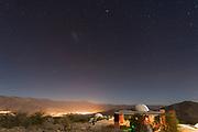 Starscape over Mamalluca Observatory in Vicuna, Chile