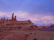 Image of the Zen & Muse, a stunning rock formation in a remote v of the Island in the Sky District of Canyonlands National Park, San Juan County, Utah, USA.
