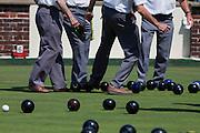 Sheringham, Norfolk, England, 08/08/2009..Bowling championship during summer carnival.
