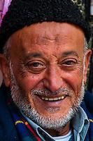 Arab man in the Souk of the old city, Jerusalem, Israel.