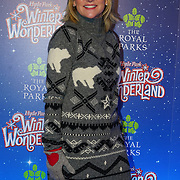 London, England, UK. 16th November 2017. Anthea Turner attend the VIP launch of Hyde Park Winter Wonderland 2017 for a preview. tomorrow is opening for the public