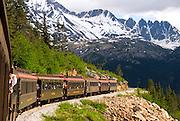 Alaska Southeast,  White Pass & Yukon Railroad. train