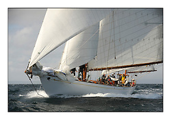 Day five of the Fife Regatta, Race from Portavadie on Loch Fyne to Largs. <br /> <br /> Latifa, 8, Mario Pirri, ITA, Bermudan Yawl, Wm Fife 3rd, 1936<br /> <br /> * The William Fife designed Yachts return to the birthplace of these historic yachts, the Scotland's pre-eminent yacht designer and builder for the 4th Fife Regatta on the Clyde 28th June–5th July 2013<br /> <br /> More information is available on the website: www.fiferegatta.com