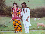 EXCLUSIVE<br /> I  MARRIED AN AFRICAN PRINCE'<br /> <br /> When college tutor Sue Hadley agreed to marry a dreadlocked musician from Nigeria 13 years her junior after a whirlwind ten day romance, she did not realise she was also agreeing to marry a real life Prince...<br /> <br />  <br /> Within six weeks of their first date, the couple were married during a traditional tribal ceremony in the remote town of Illah in Africa.<br /> <br />  <br /> The unconventional couple have now been married for 16 years and are looking forward to becoming King and Queen in an elaborate Coronation next year...<br /> <br />  <br /> EXCLUSIVE BY AMANDA REVELL WALTON/EXCLUSIVEPIX<br /> <br />  <br /> On Palm Sunday college lecturer Sue Hadley will perform in an outdoor production of the Easter story in the quintessential English market town of Woodstock in Oxfordshire.<br /> <br />  <br /> Her beloved husband of 16 years, however, will not be there to see her act a 'commoner' as Jesus is crucified on the cross.<br /> <br />  <br /> For husband Bunny Eagle - real  name Ugochukwu Anikwe - will be over 4,000 miles away - in the remote African town of Illah, near Lagos, Nigeria.<br /> <br />  <br /> It is fair to say that trained counsellor Sue and reggae singer Bunny have a very unique and unconventional marriage - even by today's standards.<br /> <br />  <br /> First of all, Sue, who has just turned 60, is 13 years older than her 47-year-old 'toyboy' husband.<br /> <br />  <br /> Their marriage also clearly fits the label of a 'long distance relationship - with Sue living in a small village in Oxfordshire and musician Bunny living in the town of Illah in the Delta state of Nigeria.<br /> <br />  <br /> But, the age gap and geographical and cultural differences are not what make this marriage so unusual.<br /> <br />  <br /> There is a far more intriguing element to their union.<br /> <br />  <br /> For Bunny is, in fact, a real life Prince - who is due to be crowned King in an elaborate 