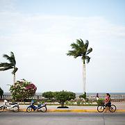 The lakefront along Lago Nicaragua next to Granada.