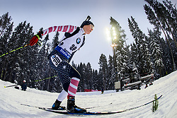 March 8, 2019 - –Stersund, Sweden - 190308 Clare Egan of USA competes in the Women's 7.5 KM sprint during the IBU World Championships Biathlon on March 8, 2019 in Östersund..Photo: Petter Arvidson / BILDBYRÃ…N / kod PA / 92247 (Credit Image: © Petter Arvidson/Bildbyran via ZUMA Press)