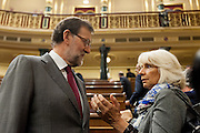 Mariano Rajoy at spanish congress of deputies