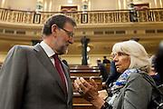 Mariano Rajoy at spanish congress of deputies