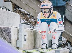 15.02.2020, Kulm, Bad Mitterndorf, AUT, FIS Ski Flug Weltcup, Kulm, Herren, im Bild Stefan Kraft (AUT) // Stefan Kraft of Austria during his Jump for the men's FIS Ski Flying World Cup at the Kulm in Bad Mitterndorf, Austria on 2020/02/15. EXPA Pictures © 2020, PhotoCredit: EXPA/ Dominik Angerer