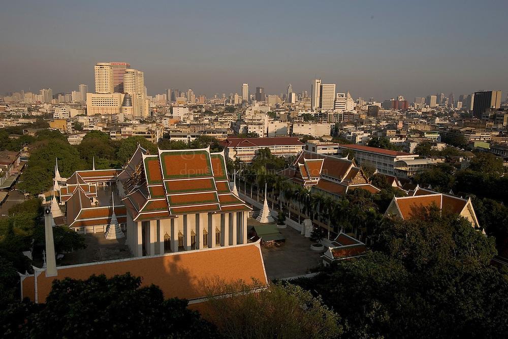 BANGKOK, THAILAND-FEBRUARY 27, 2005:  General scenes at the Gold Mount or Wat Sakhet in Bangkok, Thailand on Sunday February 27, 2005. Photo by David Paul Morris