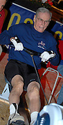 Dresden, GERMANY,  Dresden, GERMANY, US Indoor Rowing Team, Joe ALOM, competing at the  European Indoor Rowing Championships, Margon Arena,  15/12/2007 [Mandatory Credit Peter Spurrier/Intersport Images