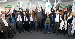 O candidato José Fortunati durante convenção do DEM - Democratas, na sede do pasrtido em Porto Alegre. FOTO: Jefferson Bernardes/Preview.com