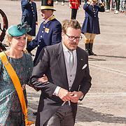 NLD/Den Haag/20180918 - Prinsjesdag 2018, Prins Constantijn en Prinses Laurentien