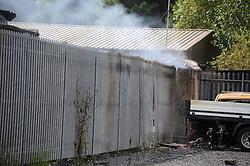 Damage to vehicles in the next yard<br /> <br /> (c) David Wardle | Edinburgh Elite media