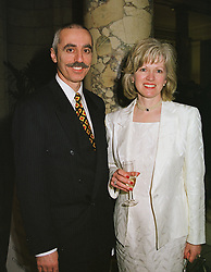 COUNT & COUNTESS CARIDI at a reception in London on 1st March 1999.MOW 16
