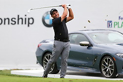September 8, 2018 - Newtown Square, Pennsylvania, United States - Francesco Molinari tees off the 17th hole during the third round of the 2018 BMW Championship. (Credit Image: © Debby Wong/ZUMA Wire)