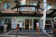 The launch of Royal Caribbean International's Oasis of the Seas, the worlds largest cruise ship..Park Cafe on Central Park