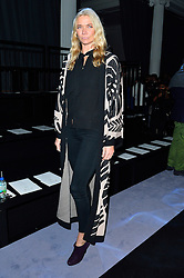 © Licensed to London News Pictures. 21/02/2016.  JODIE KIDD attends the Temperley show at the London Fashion Week Autumn/Winter 2016 show. Models, buyers, celebrities and the stylish descend upon London Fashion Week for the Autumn/Winters 2016 clothes collection shows. London, UK. Photo credit: Ray Tang/LNP