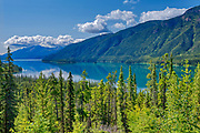 Muncho Lake. Northern Rocky Mountains<br />Muncho Lake Provincial Park<br />British Columbia<br />Canada