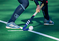 Laren - aangeven strafcorner, adidas, , tijdens de Livera hoofdklasse  hockeywedstrijd dames, Laren-Oranje Rood (1-3).  COPYRIGHT KOEN SUYK