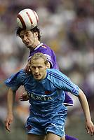 Fotball<br /> Belgia<br /> Foto: PhotoNews/Digitalsport<br /> NORWAY ONLY<br /> <br /> BRUSSELS, 28/05/2005<br /> <br /> FINALE BEKER VAN BELGIE 2005 / FINALE COUPE DE BELGIQUE 2005 / CLUB BRUGGE - GBA / FC BRUGES - GERMINAL BEERSCHOT / RUNE LANGE - HOEFKENS