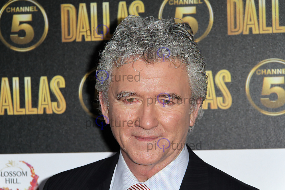 LONDON - AUGUST 21: Patrick Duffy attended the Channel 5 Dallas Launch Party, Old Billingsgate Market, London. August 21, 2012. (Photo by Richard Goldschmidt)