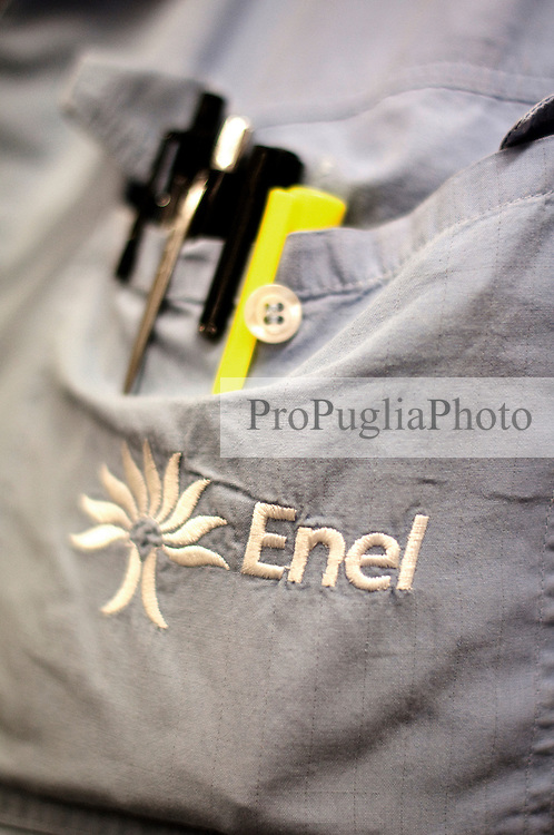 Cerano 6 Ottobre 2011 .Visita presso centrale Enel di Cerano, Brindisi..Apulia Film Commission.Apulia Audiovisual Workshop Puglia Experience