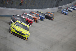 October 7, 2018 - Dover, Delaware, United States of America - Paul Menard (21) battles for position during the Gander Outdoors 400 at Dover International Speedway in Dover, Delaware. (Credit Image: © Justin R. Noe Asp Inc/ASP via ZUMA Wire)