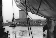 Kvaerner shipbuilding yard, on the River Clyde, Glasgow, Scotland, 1996.
