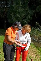 AMSTERDAM - releboekje; Beoefening van de golfsport. FOTO KOEN SUYK