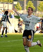 Fotball, Tippeligaen, Eliteserien 14.06.03<br />Rosenborg - Molde 5-0<br />Øyvind Storflor kom inn og fastsatte sluttresultatet til 5-0, <br /><br />Foto:Carl-Erik Eriksson, Digitalsport