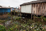In the poor neighbourhoods of Altamira there is no rubbish collection, so the water is continually polluted. Locals fear that rather then improving the infrastructure, the dam would put further strain on the towns poor resources. A third of Altamira in the state of Para, Brazil will be flooded to make way for the Belo Monte dam, nearly all the people affected are the poorest in society or indigenous communities