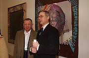 BRUNO BRUNNET AND KAREL SCHAMPERS, Martin Kippenberger, Tate Modern. 7 Febriuary 2006. -DO NOT ARCHIVE-© Copyright Photograph by Dafydd Jones 66 Stockwell Park Rd. London SW9 0DA Tel 020 7733 0108 www.dafjones.com