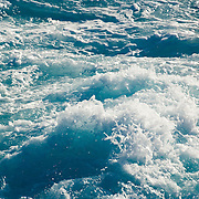 Splashing wave detail.Cancun, Quintana Roo..Mexico