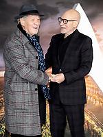 Ian McKellen and Patrick Stewart at the 'Star Trek: Picard'  premiere, London, UK 15th  Jan 2020<br /> <br /> Ian McKellen and Patrick Stewart