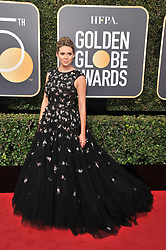 Carly Steel at the 75th Golden Globe Awards held at the Beverly Hilton in Beverly Hills, CA on January 7, 2018.<br />
