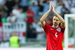 Milivoje Novakovic of Slovenia after the EURO 2016 Qualifier Group E match between Slovenia and England at SRC Stozice on June 14, 2015 in Ljubljana, Slovenia. Photo by Vid Ponikvar / Sportida