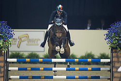Moneta Luca Maria, (ITA), Connery<br /> Longines FEI World Cup™ Jumping Final II<br /> Las Vegas 2015<br />  © Hippo Foto - Dirk Caremans<br /> 18/04/15