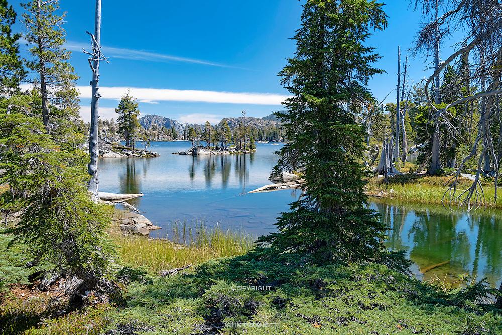 Middle Velma Lake, Desolation Wilderness, Sierra Nevada, California