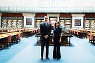 060420 Spanish Royals visit National Library
