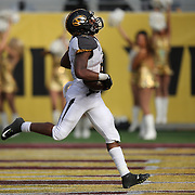 ORLANDO, FL - JANUARY 01:  Marcus Murphy #6 of the Missouri Tigers runs the football for a touchdown that was nullified by a penalty during the Buffalo Wild Wings Citrus Bowl against the Minnesota Golden at the Florida Citrus Bowl on January 1, 2015 in Orlando, Florida. (Photo by Alex Menendez/Getty Images) *** Local Caption *** Marcus Murphy