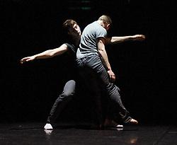 "Balletboyz<br /> ""The Talent""<br /> artistic directors Michael Nunn & William Trevitt <br /> The Arts Depot <br /> Press photocall<br /> 27th January 2011<br /> Balletboyz 10th Anniversary Tour<br /> <br /> ""Void""<br /> <br /> Anthony Middleton<br /> Kai Downham<br /> <br /> <br /> <br /> <br /> Photograph by Elliott Franks"